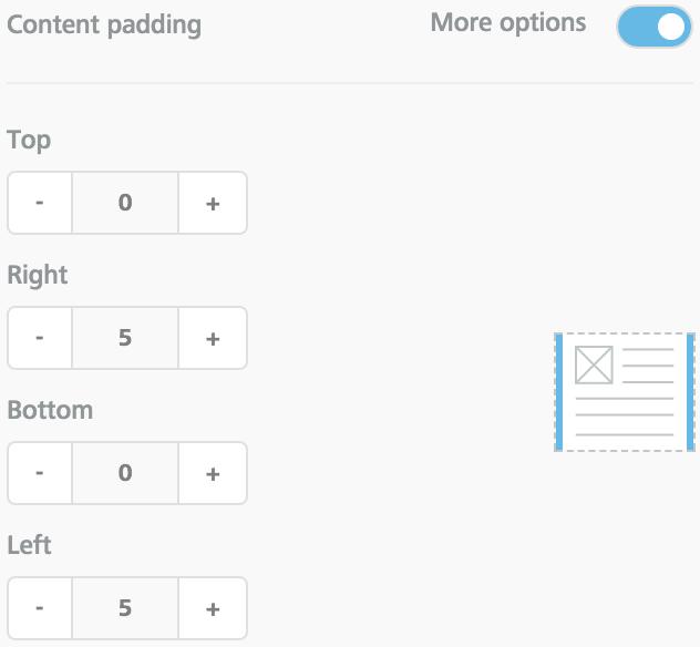 Settings for a circular close button (3)