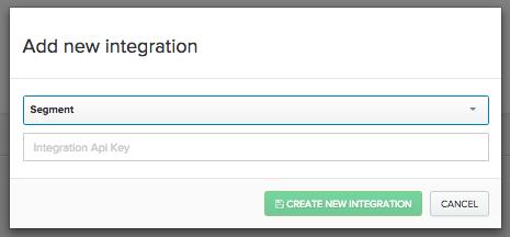 Adding a Segment integration in Iterable
