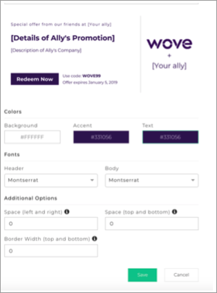 Creating a custom tag in Wove