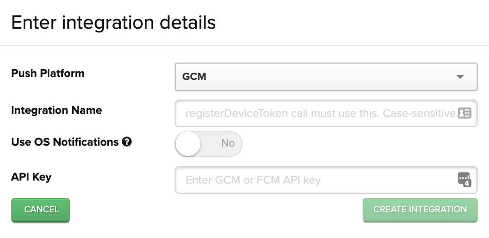 Integration details window