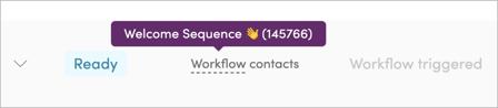 Viewing workflow details