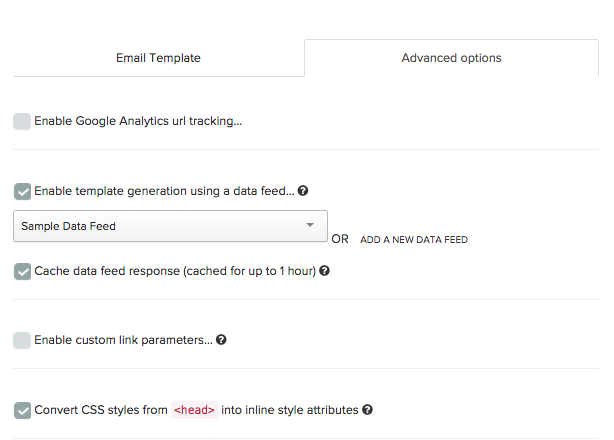 Rendering Templates with Data Feeds – Iterable Support Center